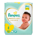 Pampers Premium Care Nappies Size 2 80s
