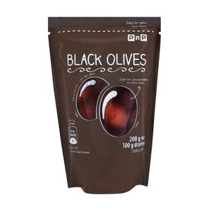 PnP Black Olives 200g