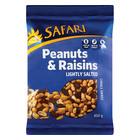 Safari Peanut & Raisins 450g