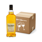 Teachers Highland Cream Whisky 750ml  x 12