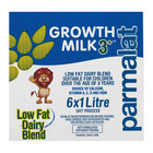 Parmalat Uht Growth Milk 3+ 1l x 6