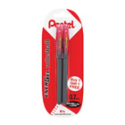 Pentel Energel Pen 0.7mm Red+1free