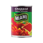 Miami Tomatoes Chopped and Peeled 410g