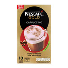 Nescafe Gold Cappuccino Unsweetened 10s