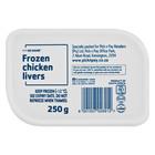 No Name Frozen Chicken Livers 250g