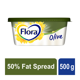 Flora Medium Fat Olive Spread 500g
