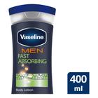Vaseline Men Fast Absorbing Repairing Moisture Body Lotion 400ml