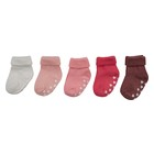 Baby Girls Socks 5 Pack 0-6 Months Pink