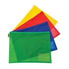 Kenzel A4 PVC Book Bag Assorted Colours
