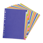 PnP A-Z Index File Dividers