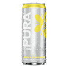 Pura Soda Lemon & Elderflower 330ml x 24