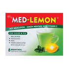 Med-lemon Menthol Hot Medication for Colds & Flu 8s