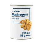 No Name Mushroom Pieces And Stems 285g