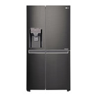 LG Double Door Fridge Black Stainless 665l