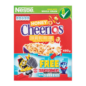 Nestle Cheerios Honey 490g