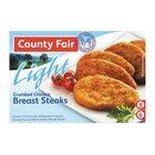 County Fair Light Breast Fillets 400g