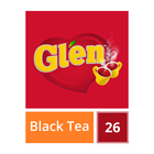 Glen Tagless Teabags Regular 26s