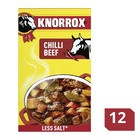 Knorrox Stock Cubes Chilli Beef 12s