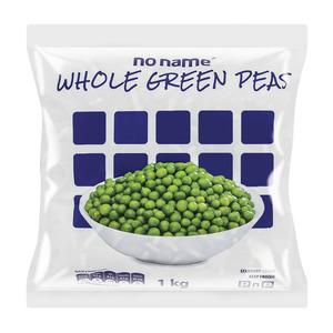 No Name Frozen Whole Green Peas 1kg