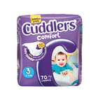Cuddlers Comfort Diapers Size3 70 Ea