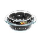 02 Cook 2.5l Round Casserole With Lid