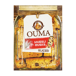 Ouma Rusks Sliced Muesli 450g