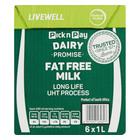 PnP UHT Fat Free Milk 1l x 6
