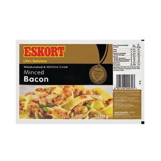 Eskort Minced Bacon 500g