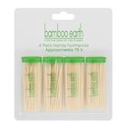 Bamboo Earth Toothpicks 4x75ea