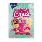 PnP Flat Base Party Cones 28s