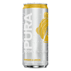 Pura Soda Ginger & Lemon 330ml x 24
