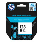 Hp 123 Ink Cartridge Org Black B/pack