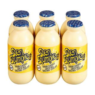 Steri Stumpie Banana Flavoured Milk 350ml x 6