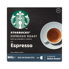 Starbucks Espresso Roast by Nescafe Dolce Gusto Dark Roast Coffee Pods 12s