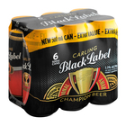 Carling Black Label Beer Can 500ml x 6