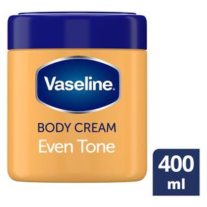 Vaseline Even Tone Moisturising Body Cream 400ml