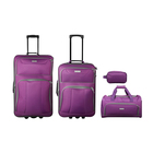Elite 4 Piece Travel Set Purple