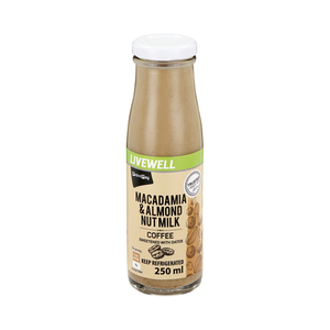 PnP Macadamia & Almond Nut Milk Coffee Flavour 250ml