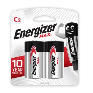 Energizer Max C 2 Pack