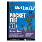 Butterfly Pocket File A4 40page