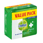 DETTOL BATH SOAP ORIGINAL 150GR 3EA