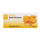 PnP Frozen Plain Hashbrown 600g