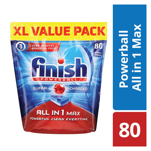 Finish Dishwasher Tablets Regular 80s