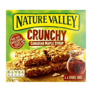 Nature Valley Crunchy Maple Syrup Bars 6s