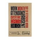 Croxley Attendance Register