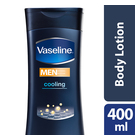 Vaseline Men Cooling Repairing Moisture Body Lotion 400ml