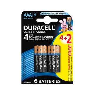 Duracell Batteries Ultra Pow er AA 4+2 6