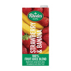 Rhodes 100% Straw&banana Fruit Juice 1l