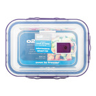 O2 COOK A/T REC DISH 830ML W SMART LID
