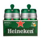 Heineken Lager Draught 5l Keg x 2